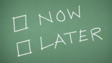 Get Rid of Procrastination Now!